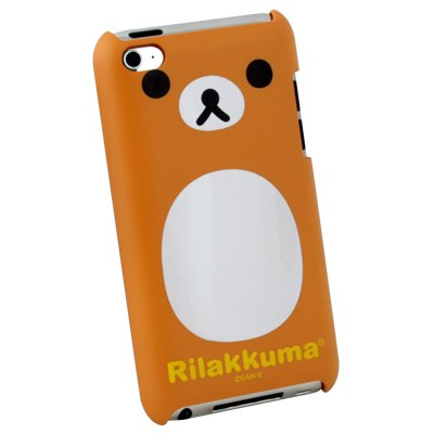 For Apple iTouch 4 Rilakkuma Bear Hard Cover Case #6689#