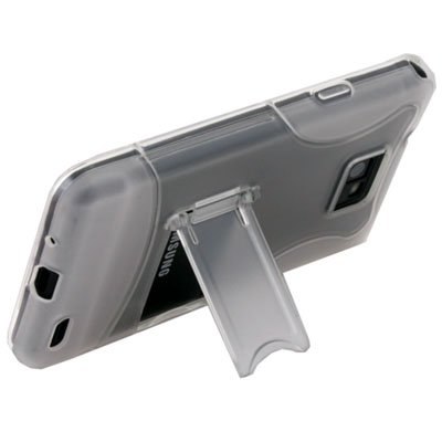 Clear Stand Case Cover for SAMSUNG GALAXY S2 i9100