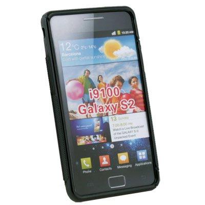 Dark Black Skin Case Cover For Samsung Galaxy S2 i9100