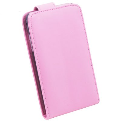 For Samsung i9003 PU Leather Case Pink