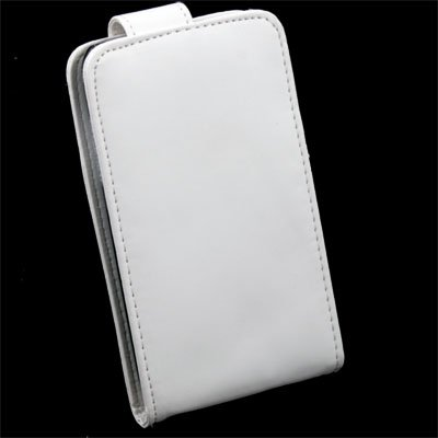 White PU Leather Case for Samsung i9003
