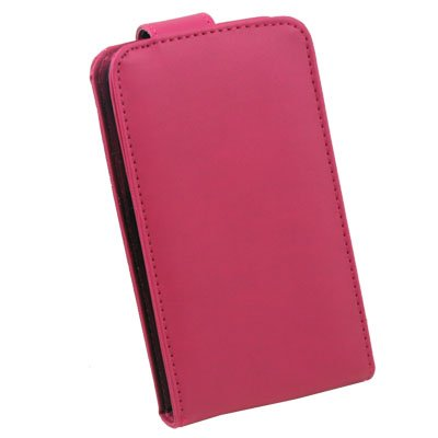 PU Leather Case Bag for Samsung i9000 Peach