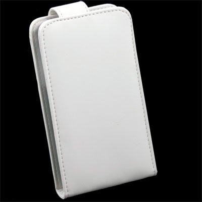 White PU Leather Case for Samsung i9000