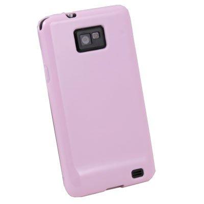 Pink Glossy TPU Skin Case For Samsung Galaxy S2 i9100
