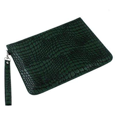 For Samsung Galaxy Tab 10.1 PU Serpentine Leather Case Green