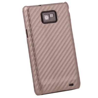 Matts Pattern Plastic Hard Case Cover for Samsung Galaxy S2 i9100 Brown