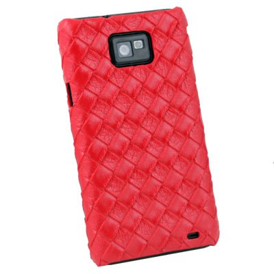 Red Pattern Hard Case For Samsung Galaxy S2 i9100
