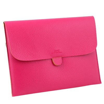 For Apple iPad 1/2 Briefcase Leather Case Pouch Peach