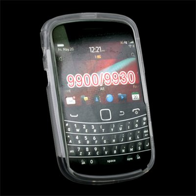TPU Skin Case Cover for BlackBerry Bold 9900 9930 Clear