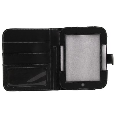 For Barnes & Noble Nook 2nd Simple Touch Case Jacket Black