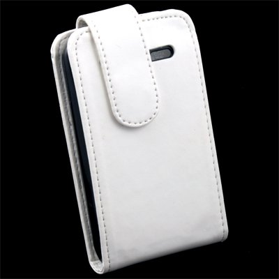 For HTC Widifire SG13 PU Leather Pouch Case White