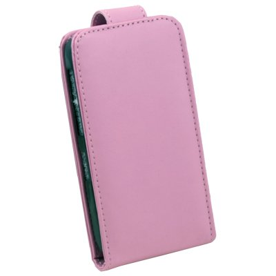 Pink PU Leather Skin Pouch Case for HTC Widifire SG13