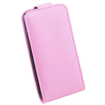 Pink PU Leather Skin Pouch Case for HTC Sensation4G Z710e