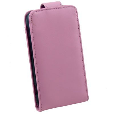 Pink PU Leather Case Pouch Cover For HTC S S710e