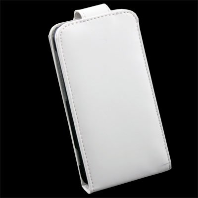 PU Leather Case Pouch Cover For HTC S S710e White