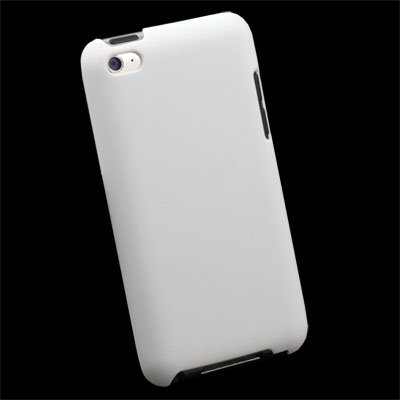 White hard Thin Case Cover For Apple ipod Touch 4 4th