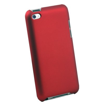 For Apple ipod Touch 4 4th Hard Slim Thin Case Cover Red