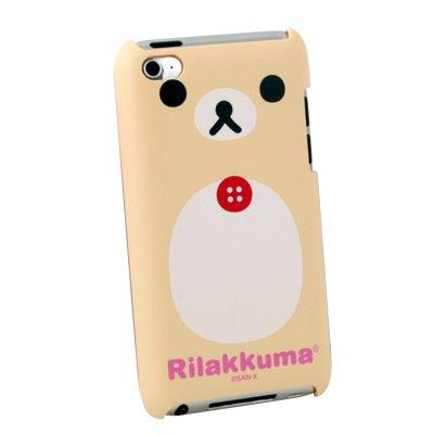 Korilakkuma Bear Hard Cover Case for Apple iTouch 4