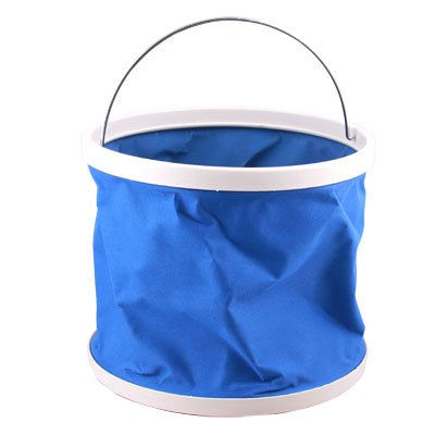 9L Water Portable Bucket Fishing Camping Blue