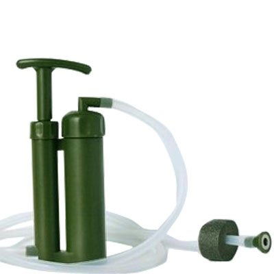 Soldier's Hiking Camping Water Filter Purifier