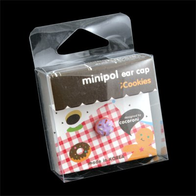 3.5mm Minipol Earphone Dust Cap (Smallberry Doughnut)