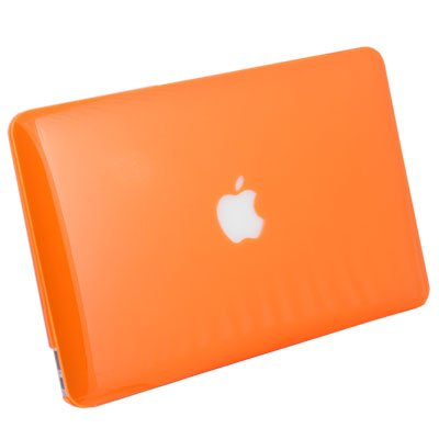 For MacBook Air 11.6 Slim Crystal Hard Case Orange #6213#
