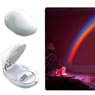 LED Rainbow Projector Colourful Cosmos Night Light Lamp