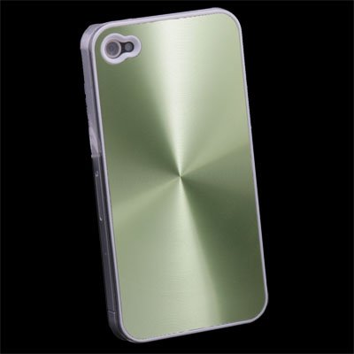 Green CD Hard  Case Skin Cover for Apple iPhone 4 4G 4S