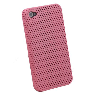 For iPhone 4 4G Net Hard Case Accessory Pink