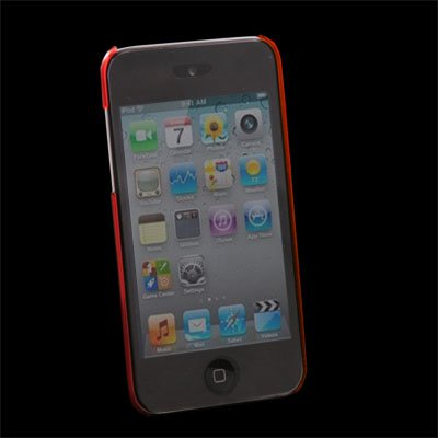 For Apple iPod Touch 4 Red Unbreakable Case Cover