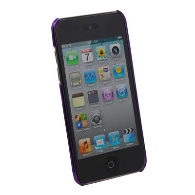 Unbreakable Case Cover for Apple iPod Touch 4 (Purple)