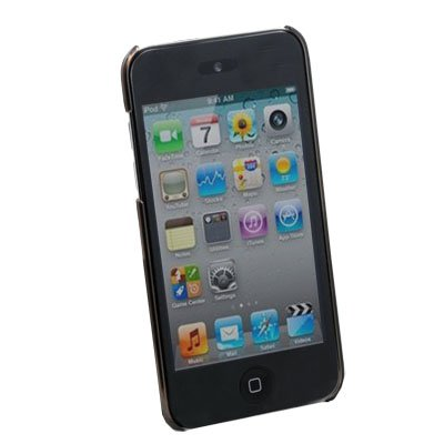 Black Unbreakable Crystal Case Cover for Apple iPod Touch 4 4th