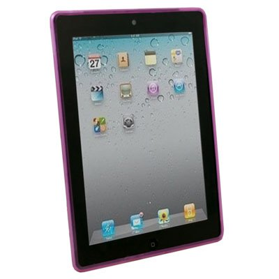 Dotwave Rubber Skin Case Cover for Apple iPad 2 Purple