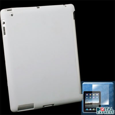 White Smart Cover Companion Case + Protector for iPad 2
