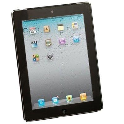 Crystal Hard Case Sleeve for Apple iPad 2 Black