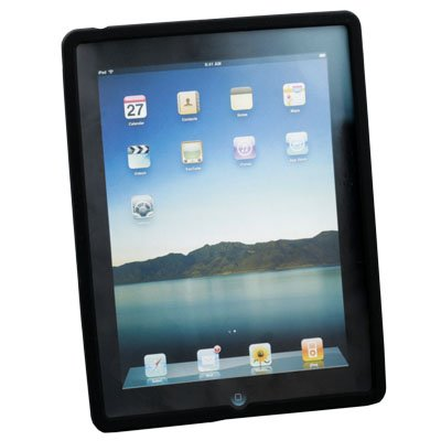 Black Skin Cover Case for Apple iPad 2 2G