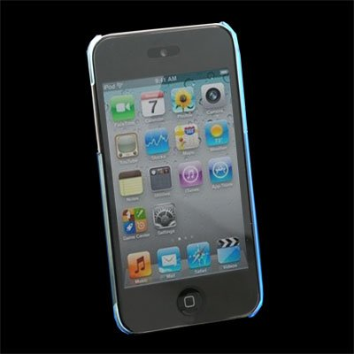 Blue Unbreakable Case Cover for Apple iPod Touch 4 4th