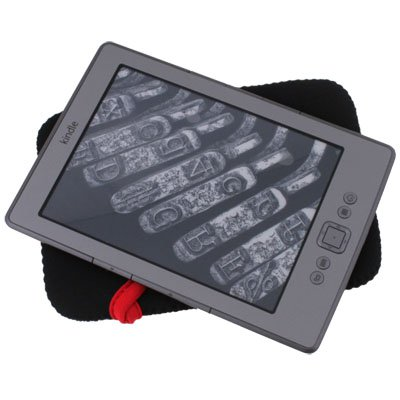 Black Soft Pouch Sleeve Case for Latest Amazon Kindle 4 4th Generation