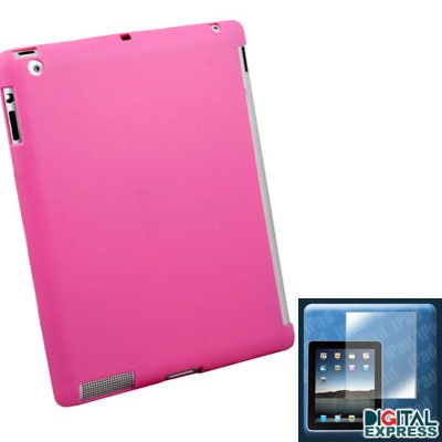 Pink Smart Cover Companion Case + Protector for iPad 2