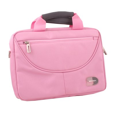"""Pink Hand Carry Netbook Case Bag Cover For 10"""" 10.1"""" Samsung P7510 P7100 iPad 1/2 Acer A500 W500"""