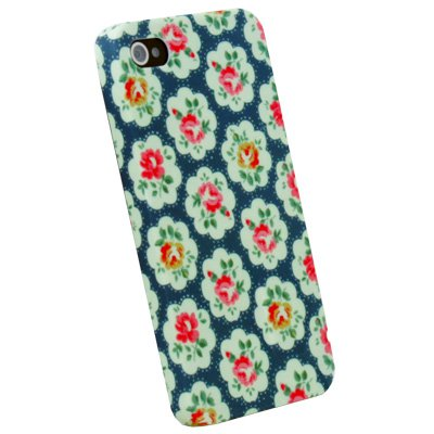 Flower Green Cover Case Skin For Apple Iphone 4 4G 4S