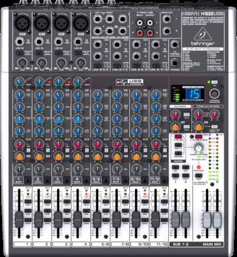 Behringer Xenyx X1622USB USB Audio Mixer