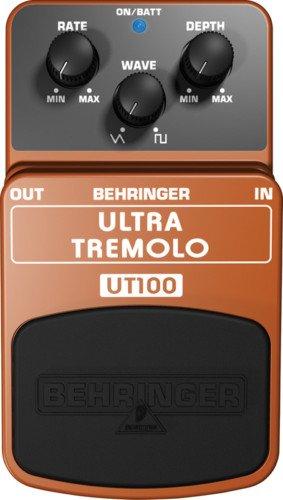 Behringer Ultra Tremolo UT100 Guitar Effects Pedal