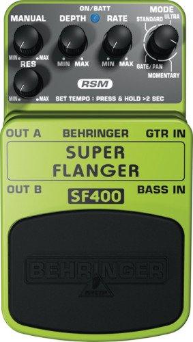 Behringer SUPER FLANGER SF400 Ultimate Flanger Effects