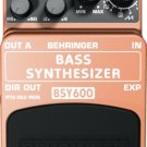 Behringer BSY600 Bass Synthesizer Effects Pedal