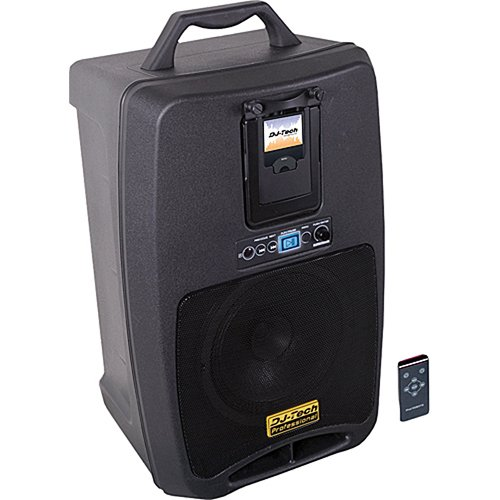 DJ-Tech iVisa 80 Light Battery Powered PA System