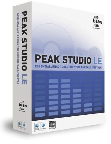 Bias Peak Studio LE Mastering Software