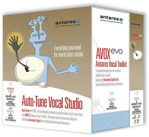 Antares Auto-Tune Evo with Vocal Studio Plus AVOX