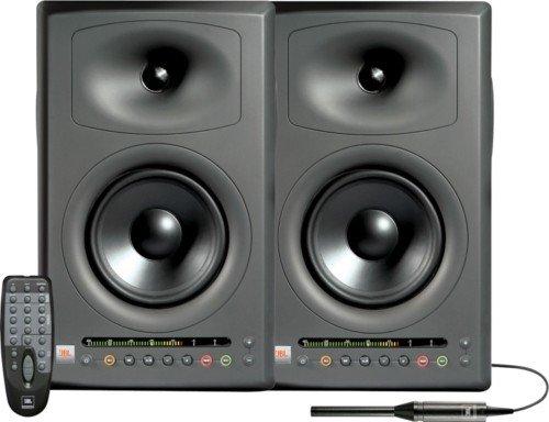 """JBL LSR4326P/PAK 6"""" Studio Monitors w Correction Kit"""