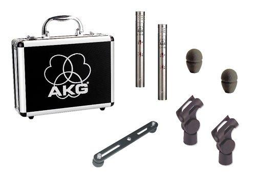 AKG C451B/ST Stereo Pair Small Diaphragm Microphones